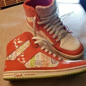 Coach high top Shoes